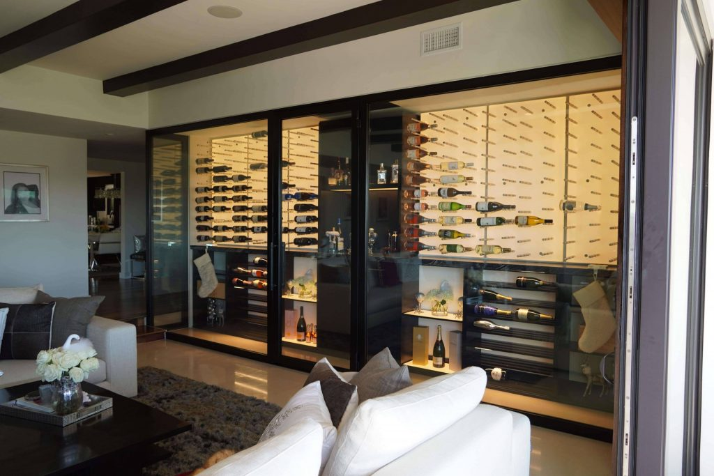Weise Residence Wine Cellar View In San Francisco