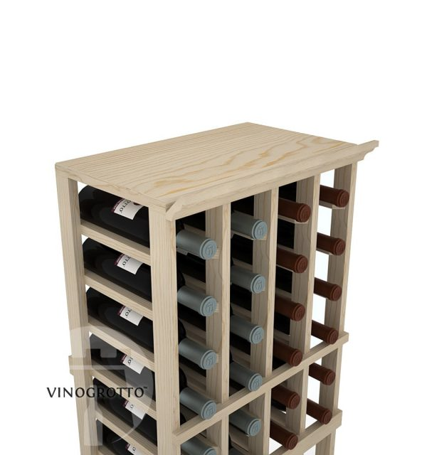 A Solid Top Shelf for 4 Column Vinogrotto Display Racks can be sold separately