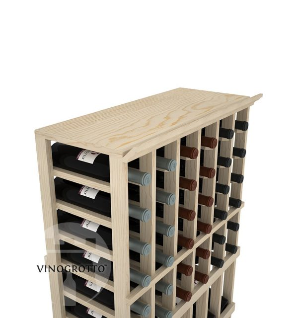 A Solid Top Shelf for 6 Column Vinogrotto Display Racks can be sold separately