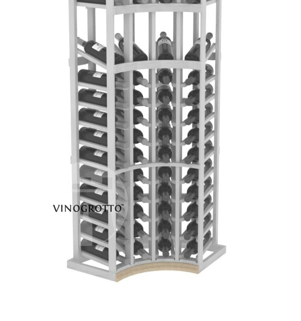 Base Inside Curve Molding for Curved Corner Vinogrotto Display Racks can be sold separately